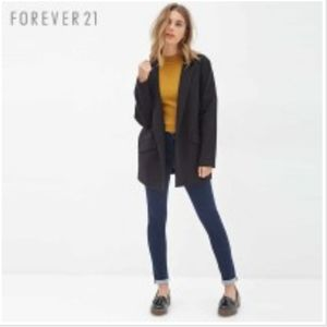 NWT Forever 21 Cuffed Skinny Jeans